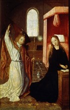 'The Annunciation', early 16th century.  Artist: Master of Hoogstraaten