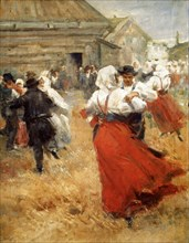 'Country Celebration', late 19th or early 20th century. Artist: Anders Leonard Zorn