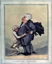 'A Little Bigger', 1791.  Artist: Thomas Rowlandson
