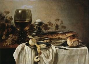 'Breakfast', 1646.  Artist: Pieter Claesz
