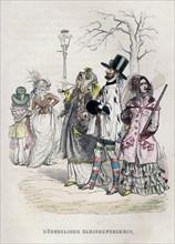 Grandville, 'Women's Freedom of Dress'
