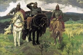 Vasnetsov, 'Bogatyrs'