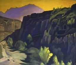 Roerich, 'Ajanta Caves'