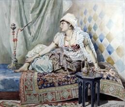 Liphart, 'An Odalisque'