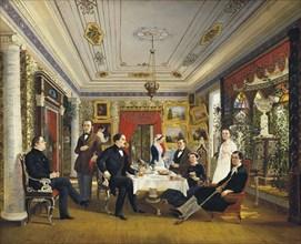 Voloskov, 'At the Tea Table'