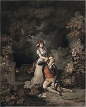 Descourtis, 'The Lover Caught Unawares'