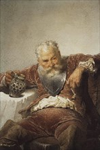 Falstaff with a Tankard of Wine and a Pipe