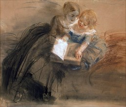 Menzel, 'Young Woman with a Child'