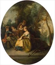 Lancret, 'Concert in the Park'