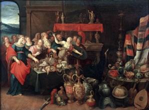 'Achilles Recognized', 1620s.  Artist: Frans Francken II