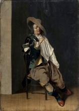 'A Smoker', 17th century.  Artist: Willem Cornelisz Duyster