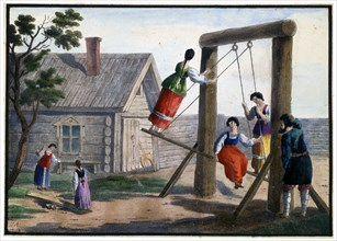 'Country Amusements', 1825.  Artist: Pyotr Alexandrov