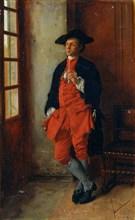 'A Smoker', 19th century.  Artist: Jean Louis Ernest Meissonier