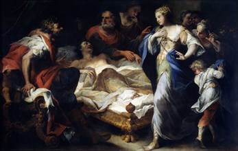 'Antiochus and Stratonice', 17th or early 18th century. Artist: Luca Giordano