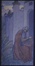 Boyan, 1910. Artist: Roerich, Nicholas (1874-1947)