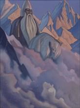 Svyatogor, 1942. Artist: Roerich, Nicholas (1874-1947)
