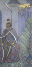 A Knight, 1910. Artist: Roerich, Nicholas (1874-1947)