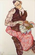 Lovers, 1914-1915. Artist: Schiele, Egon (1890?1918)
