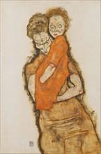 Mother and Child, 1914. Artist: Schiele, Egon (1890?1918)
