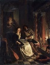 Rendezvous, 1852. Artist: Eckhout, Jacob Joseph (1793-1861)