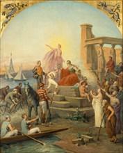 Allegory of Sports, 1896. Artist: Frédy, Baron de Coubertin, Charles Louis de (1822-1908)
