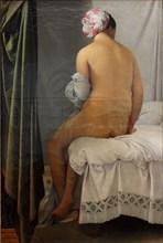 The Valpinçon Bather (La Grande Baigneuse), 1808. Artist: Ingres, Jean Auguste Dominique (1780-1867)