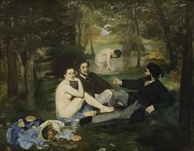 The Luncheon on the Grass, 1863. Artist: Manet, Édouard (1832-1883)