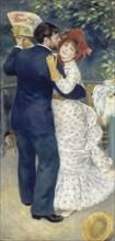 Country Dance (Danse à la campagne), 1883. Artist: Renoir, Pierre Auguste (1841-1919)
