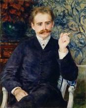Albert Cahen d'Anvers, 1881. Artist: Renoir, Pierre Auguste (1841-1919)