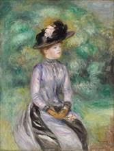 Adrienne, ca 1878. Artist: Renoir, Pierre Auguste (1841-1919)
