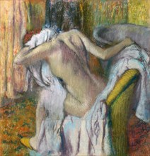 After the Bath, c. 1890. Artist: Degas, Edgar (1834-1917)