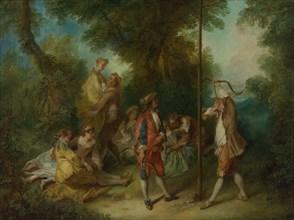 The Four Ages of Man: Maturity, ca 1735. Artist: Lancret, Nicolas (1690-1743)
