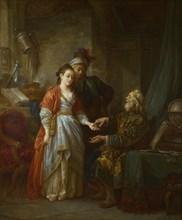 The Necromancer, ca 1775. Artist: Le Prince, Jean-Baptiste (1734-1781)