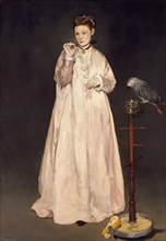 Young Lady in 1866, 1866. Artist: Manet, Édouard (1832-1883)