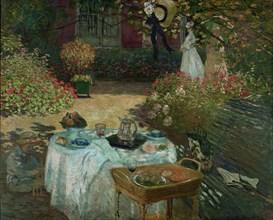 Le déjeuner, 1873. Artist: Monet, Claude (1840-1926)