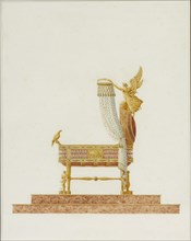 Design of the Bassinet for His Majesty the King of Rome, 1811. Artist: Percier, Charles (1764-1838)