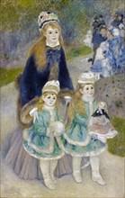 Mother and Children (La Promenade), 1874-1876. Artist: Renoir, Pierre Auguste (1841-1919)