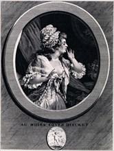 Au moins soyez discret!, 1789. Artist: Saint-Aubin, Augustin, de (1736-1807)