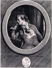Comptez sur mes serments!, 1789. Artist: Saint-Aubin, Augustin, de (1736-1807)