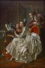 The Music Party, 1774. Artist: Trinquesse, Louis Rolland (c. 1746-1800)