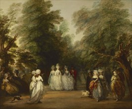 The Mall in St. James's Park, ca. 1783. Artist: Gainsborough, Thomas (1727-1788)