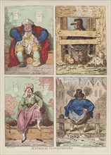 National conveniences, 1769. Artist: Gillray, James (1757-1815)