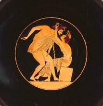 Wine Cup with Pentathletes, 505-500 BC. Artist: Carpenter Painter (active 515-500 B.C.)