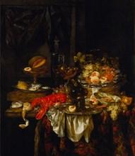 Banquet Still Life, 1667. Artist: Beijeren, Abraham Hendricksz, van (1620/21-1690)