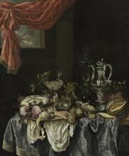 Sumptuous still life, 1654. Artist: Beijeren, Abraham Hendricksz, van (1620/21-1690)