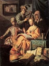 Allegory of Music, 1626. Artist: Rembrandt van Rhijn (1606-1669)