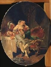 The Seducer, 1891. Artist: Zichy, Mihály (1827-1906)