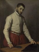 The Tailor (Il Tagliapanni), c. 1565. Artist: Moroni, Giovan Battista (1520/25-1578)