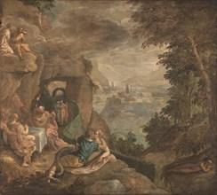 Landscape with a Scene of Enchantment, ca 1590. Artist: Fiammingo, Paolo (c. 1540-1596)