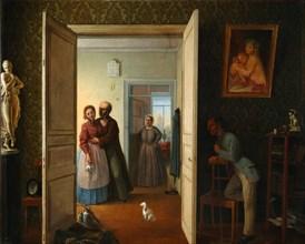 Unsuccessful Rendezvous, 1869. Artist: Bovin, Vasily Nikiforovich (1815-1870)